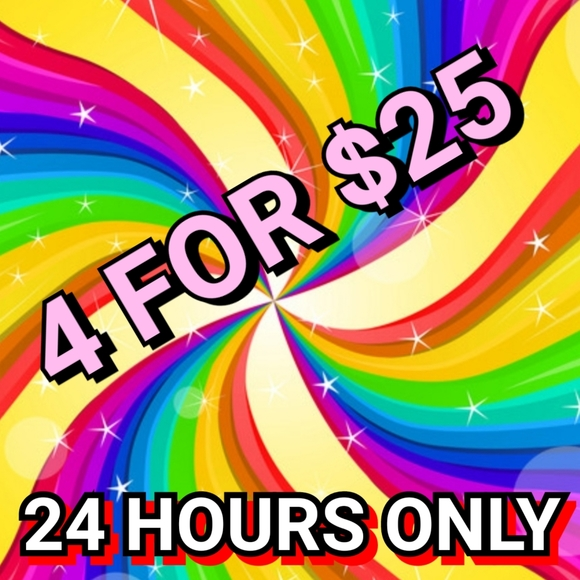 ❤❤❤ 4 for $25 ❤❤❤